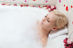 Frauenbaden Lizenzfreie Stockfotografie