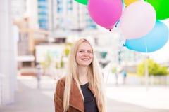 Frauenballone, Abschluss oben Lizenzfreie Stockfotografie