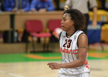 Frauenbasketball Euroleague Stockfoto
