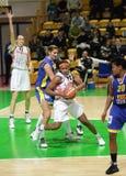 Frauenbasketball Euroleague Stockbild