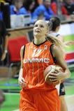 Frauenbasketball. UGMK gegen USA Lizenzfreies Stockfoto
