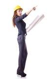 Frauenbau Stockfoto