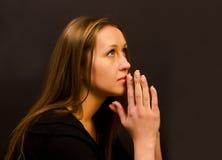 Frauenbeten Stockbilder