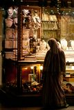 Frauenblick des Islams auf Juwel Stockfotografie
