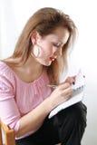 Frauendenken Lizenzfreies Stockfoto
