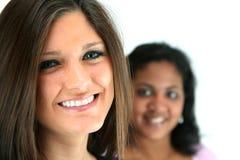 Frauendoktordenken stockbild
