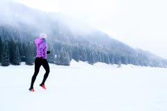 Fraueneignungsinspiration und Motivation, Läufer Lizenzfreie Stockbilder