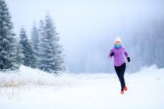 Fraueneignungsinspiration und Motivation, Läufer Lizenzfreie Stockfotos