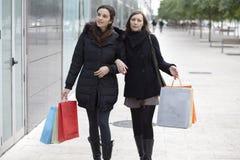 Fraueneinkauf Stockfotografie