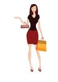 Fraueneinkaufen Stockfoto