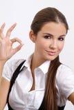 Frauenerscheinen lizenzfreies stockbild
