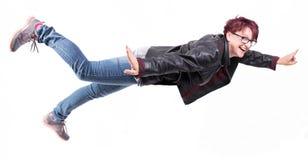 Frauenfliegen Stockbilder