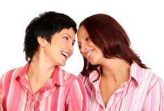 Frauenfreunde Stockbild