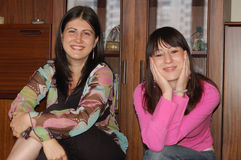 Frauenfreunde Stockfotografie