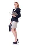 Frauengeschäftsfrau Lizenzfreie Stockbilder