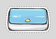 FrauenHandtasche patch Damenhandtasche lizenzfreie abbildung