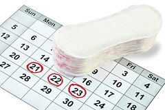 Frauenhygiene Lizenzfreie Stockbilder