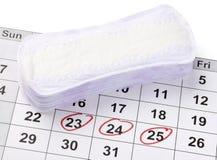Frauenhygiene Lizenzfreies Stockbild