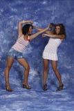 Frauenkämpfen Lizenzfreie Stockfotografie