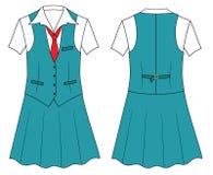 Frauenkassierer- oder -verkäuferkleidung