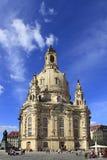 Frauenkiche en Dresden, Sajonia imagen de archivo
