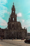 Frauenkirch ( Church of Our Lady ) Dresden Royalty Free Stock Images