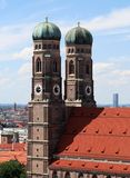 frauenkirche慕尼黑塔 免版税库存图片