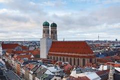 frauenkirche慕尼黑 免版税库存图片