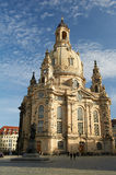 Frauenkirche à Dresde, Allemagne Image stock