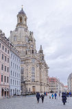 Frauenkirche è una chiesa luterana È stato eretto del 1670-1733 Immagine Stock Libera da Diritti