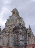 Frauenkirche è una chiesa luterana Fotografie Stock