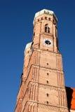 Frauenkirche, Μόναχο, άποψη πορτρέτου Στοκ Εικόνες