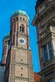Frauenkirche, Μόναχο Γερμανία Στοκ Εικόνες