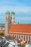Frauenkirche, Μόναχο Γερμανία Στοκ φωτογραφίες με δικαίωμα ελεύθερης χρήσης