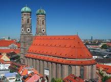 frauenkirche Μόναχο Στοκ Εικόνες