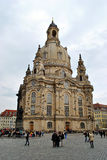 Frauenkirche στη Δρέσδη Στοκ φωτογραφία με δικαίωμα ελεύθερης χρήσης