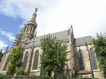 Frauenkirche в городе Nesslingen am Неккаре Стоковое Фото