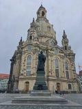 Frauenkirche стоковое изображение