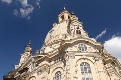 frauenkirche Германия dresden стоковая фотография rf