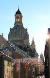 frauenkirche Германия dresden стоковые изображения rf