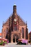Frauenkirche, Нюрнберг стоковые изображения