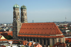 Frauenkirche. A skyline image of Frauenkirche in Munich, Germany Stock Photography