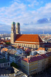 Frauenkirche. In Munich Old Town Stock Photography