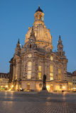 Frauenkirche. At nighttime at Dresden, Saxony Royalty Free Stock Image