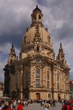 Frauenkirche. The reconstructed frauenkirche in dresden Royalty Free Stock Image