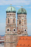 Frauenkirche. The Church of Our Lady (Frauenkirche) in Munich (Germany, Bavaria royalty free stock images
