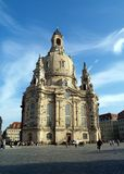 Frauenkirche. Dresden, Germany, sky, tourism Royalty Free Stock Photography