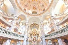 Frauenkirche Royalty Free Stock Images