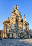 Frauenkirche cathedral in Dresden, Germany Stock Images
