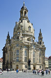 Frauenkirche cathedral, Dresden, Germany Stock Image